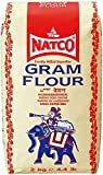 Harina de garbanzos de Natco Gram Besan para Pakoras Cebolla Bhajis