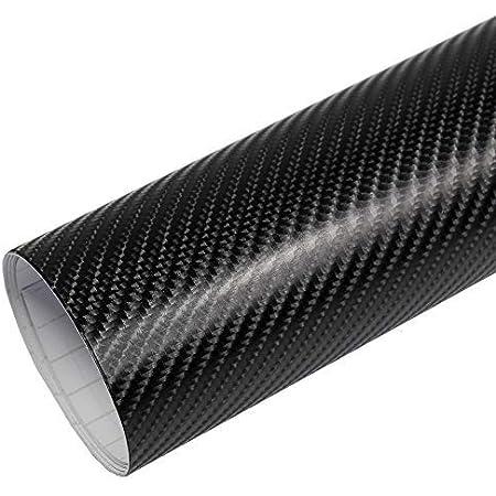 Rapid Teck 5 26 M Premium 4d Carbon Schwarz 2m X 1 52m Auto Folie Blasenfrei Mit Luftkanälen Für Auto Folierung Und 3d Bekleben In Matt Glanz Und Carbon Autofolie Küche Haushalt