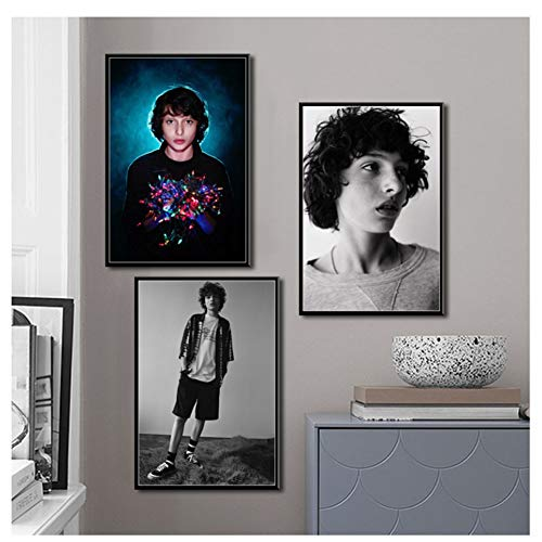 Knappe bekende acteur filmster art canvas schilderij poster muur woondecoratie Quadro -40X60cmx3 zonder frame