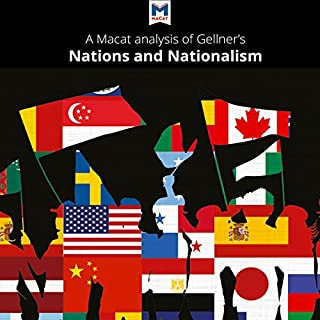 A Macat Analysis of Ernest Gellner's Nations and Nationalism audiobook cover art