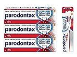 Parodontax Complete Protection - Pack para el Sangrado de Encías - x3 Pastas de Dientes + x1 Cepillo