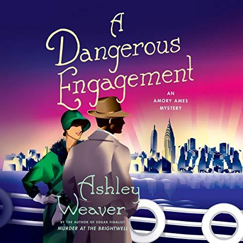 A Dangerous Engagement audiobook cover art