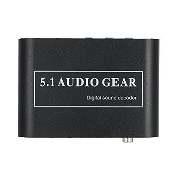 Docooler Audio Decoder 5.1 Channel AC3 DTS Audio Gear Digital Surround Sound Decoder