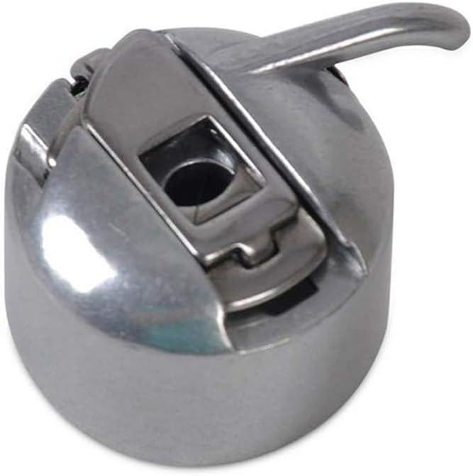 Guajave 1/3 Pzas Metal Máquina de Coser Caja de la Canilla para Brother Janome Elna Bernina Singer - 1 Pieza