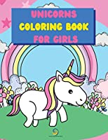 Unicorns Coloring Book for Girls