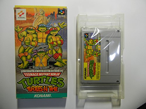 Teenage Mutant Ninja Turtles: Turtles in Time, Super Famicom (Super NES Japanese Import)