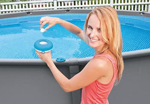 Intex 29040NP - Dispensador químico para piscinas y Spa diámetro 12,7 cm