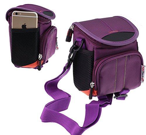 Navitech Violet Wasser wiederständige Digital Kamera Tasche für das Sigma dp0 Quattro/Sigma dp1 Quattro/Sigma dp2 Quattro/Sigma dp3 Quattro