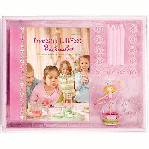Prinzessin Lillifees Backzauber (Backset): Tolle Muffins, Kuchen und Torten für die Kinderparty (Geschenkbücher mit Pfiff)
