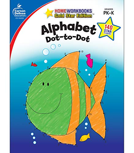 Alphabet Grades Pk K Gold Star Edition Home Workbooks