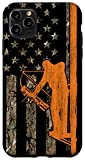 iPhone 11 Pro Max Bow Hunting Tree Stand Deer Hunter American Flag Camouflage Case
