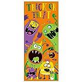 Unique Party 77030 - Plastic Silly Monsters Halloween Door Poster