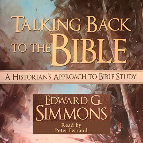 Talking Back to the Bible audiobook cover art