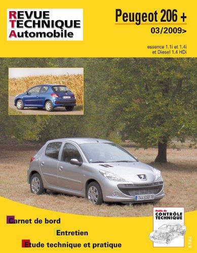 E.T.A.I - Revue Technique Automobile B735.5 PEUGEOT 206 + (2009 à 2013)
