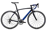Kestrel Legend Shimano 105 Bicycle, Satin Carbon/Blue Gray, 55cm/Medium