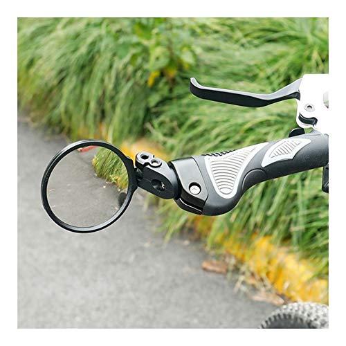 NOLOGO YG-ct 1 Pc Hafny Mountain Manubrio della Bici della Rear View Mirror Bicicletta della Strada Riflettore Pratica Bici Apparecchiatura di Sicurezza (Colore : Black)