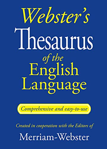Bendon Webster's Thesaurus of The English Language