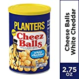 Planters White Cheddar Cheez Balls, 2.75oz Canister (Pack of 12)