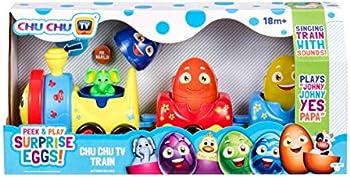 Peek & Play Surprise Eggs by Chuchu TV: Chu Train