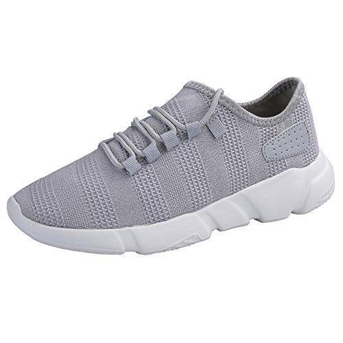 Deportivo Zapatos de Hombre,ZODOF Zapatillas de Running para Hombre Deportivas Zapatos para Correr Malla Respirable Gimnasio Running Sneakers