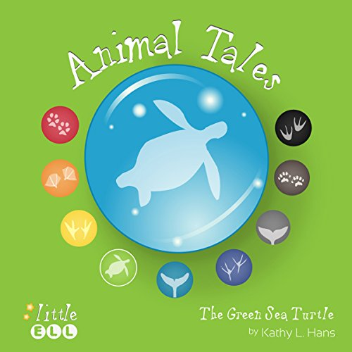 The Green Sea Turtle audiobook cover art