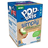 Simply Pop-Tarts, Toaster Pastries, Frosted Orchard Apple Cinnamon, Non-GMO Project Verified, 13.5 Ounce (Pack of 12)