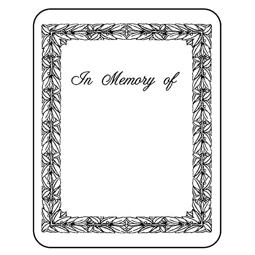 Price comparison product image The Library Store Laser & Inkjet Bookplates in Memory of 150 per Package