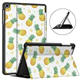 Soke Galaxy Tab A 10.1 Case 2019, Premium Shock Proof Stand Folio Case, Multi- Viewing Angles, Soft TPU Back Cover for Samsung Galaxy Tab A 10.1 inch Tablet [SM-T510/T515],Pineapple