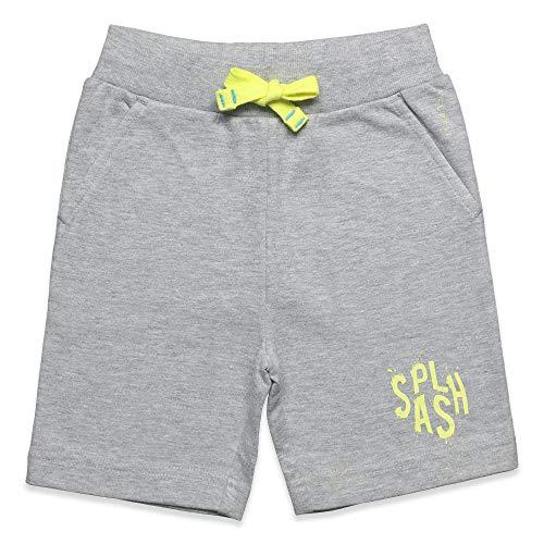 ESPRIT KIDS Jungen Knit Shorts, Grau (Heather Grey 203), (Herstellergröße: 92+)