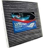 2012 Acura TSX Air Filter Boxes & Components - Bi-Trust Cabin Air Filter CF10134,Replacement for Honda Passport 2019-2021 V6 3.5L Civic 2006-2015 L4 1.8L Accord 2014-2015,2017-2020 L4 2.0L