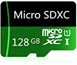 128GB Micro SD Card High Speed Class 10 SDXC with Free SD Adapter, Designed for Android Smartphones, Tablets and Other Compatible Devices
