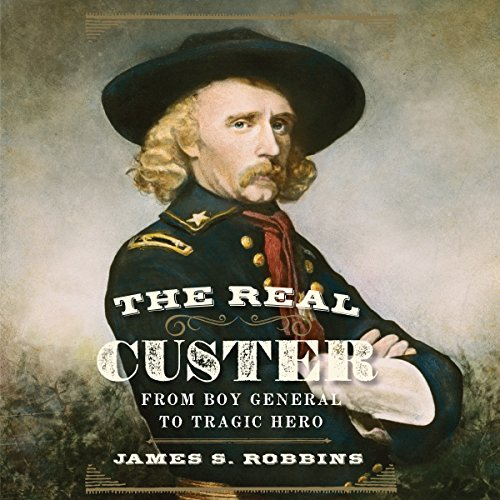 The Real Custer audiobook cover art