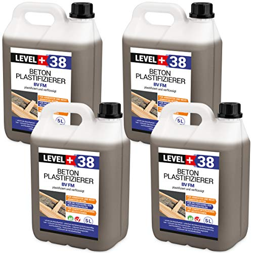 20 L Beton Plastifizierer Fließmittel Betonverflüssiger Zusatzmittel Estrich Zusatzmittel Betonfließmittel RM38