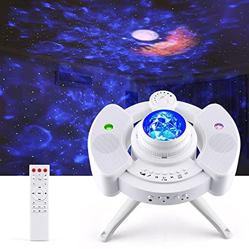 Proiettore Stelle Soffitto, Lampada Galassia UFO, Proiettore Cielo Stellato con Controllo...