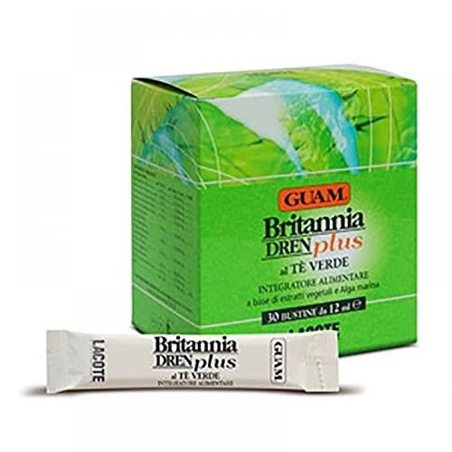 Guam Britannia Dren Plus Green Tea 30 Bags From 12ml by LACOTE Srl