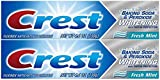 Crest Baking Soda & Peroxide Whitening Toothpaste with Tartar Protection, Fresh Mint 4.2 oz (119) - Pack of 2