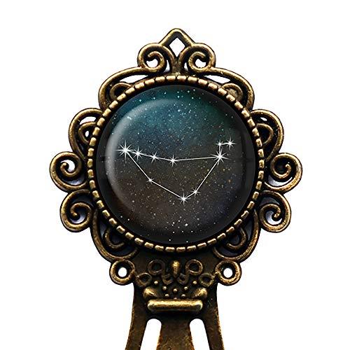 Zodiac Symbol Astrology Capricorn Star Constellation Tierkreis Astrologie Steinbock Lesezeichen