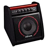 ddrum DDA50 Electronic Percussion Amplifier, 50 Watts,Black