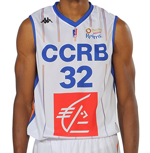 Kappa Basket CCRB Champagne Chalons Reims Replica Basketball shirt heren