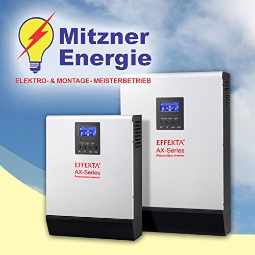 Effekta Wechselrichter AX-Serie 1KVA 12V 600W-PV - AX-K 1000-12