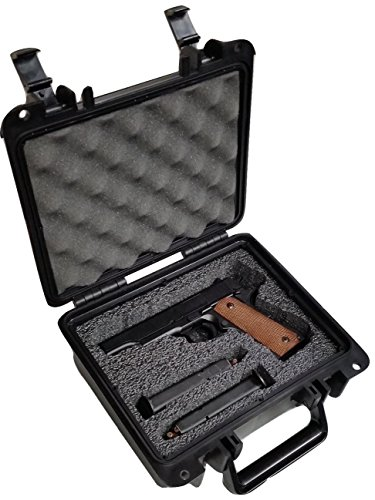 Case Club Pre-Customized Waterproof Pistol Case