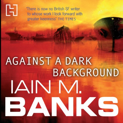 Against a Dark Background audiobook cover art
