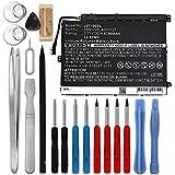 subtel® Batterie Premium Compatible avec Lenovo Thinkpad 10, Z3795 8700mAh + Set de Micro vissage1ICP4/82/114-2, 45N1726, 45N1727, 45N1728, 45N1730 Accu de Rechange Remplacement