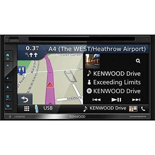 Autorradio Multimedia KENWOOD DNX5180BTS Pantalla 6.8' Tactil, Bluetooth