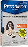 PETARMOR Flea and Tick for Dogs - 23-44 Lbs - 3 Count