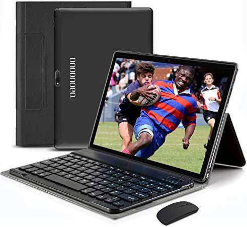 Tablet 10 1 Inch Android 10 0 Quad Coree Tablet Keyboard with 4 64GBStorage 1920 x1200 IPS HD product image