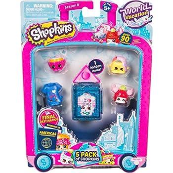 Shopkins Season 8 America Toy 5 Pack | Shopkin.Toys - Image 1