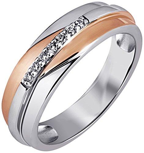 goldmaid Damen Ringe Silber Zirkonia 56 (17.8) Zi R4631S56