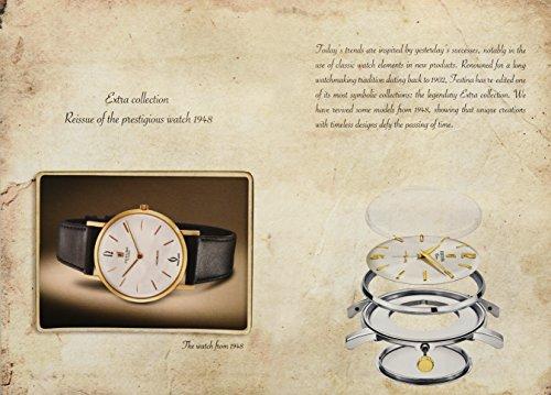 Festina Reloj Análogo clásico para Hombre de Cuarzo con Correa en Acero Inoxidable F202532