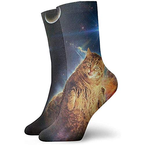 Gre Rry Katzen sind Alles Katzengott süß und lustig Raumkatze Neuheit Crew Socken Athletic Socks